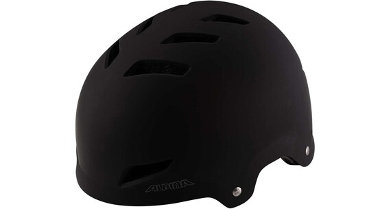 Alpina Park Junior Helm black matt